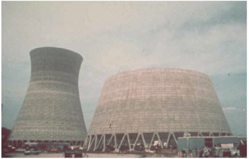 The Collapse of  Willow Island Cooling Tower