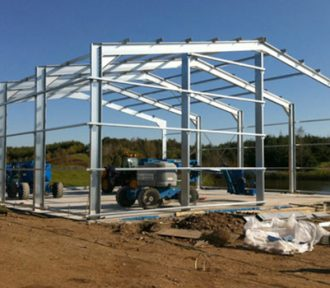 Introduction to Steel Portal Frame Structures