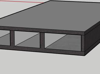 Designing a Cellular Raft Foundation